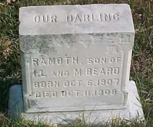 BEARD, RAMOTH - Dixon County, Nebraska | RAMOTH BEARD - Nebraska Gravestone Photos