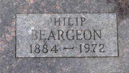 BEARGEON, PHILIP - Dixon County, Nebraska | PHILIP BEARGEON - Nebraska Gravestone Photos