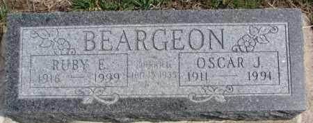 BEARGEON, RUBY E. - Dixon County, Nebraska | RUBY E. BEARGEON - Nebraska Gravestone Photos