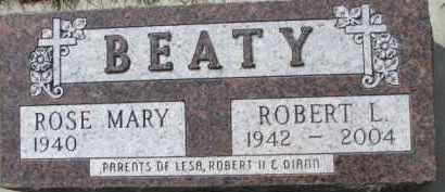 BEATY, ROSE MARY - Dixon County, Nebraska | ROSE MARY BEATY - Nebraska Gravestone Photos