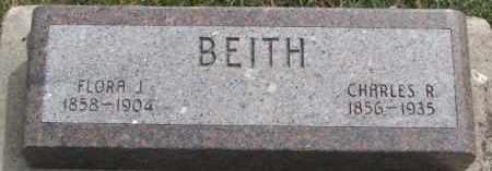 BEITH, FLORA J. - Dixon County, Nebraska | FLORA J. BEITH - Nebraska Gravestone Photos