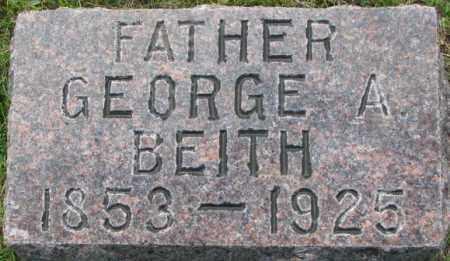 BEITH, GEORGE A. - Dixon County, Nebraska | GEORGE A. BEITH - Nebraska Gravestone Photos