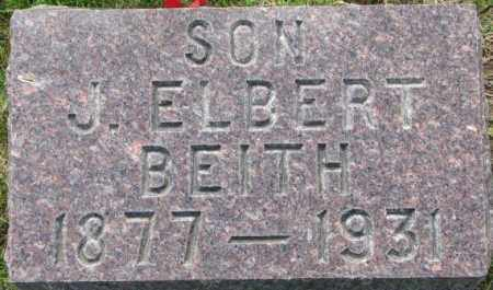 BEITH, J. ELBERT - Dixon County, Nebraska | J. ELBERT BEITH - Nebraska Gravestone Photos