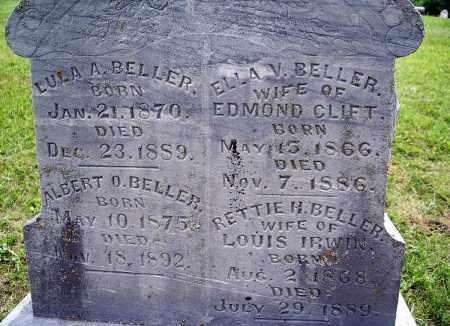 BELLER, ALBERT OLIVER - Dixon County, Nebraska   ALBERT OLIVER BELLER - Nebraska Gravestone Photos