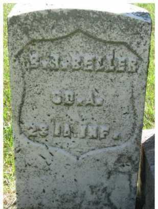 BELLER, BRANSON H. (MILITARY MARKER) - Dixon County, Nebraska | BRANSON H. (MILITARY MARKER) BELLER - Nebraska Gravestone Photos