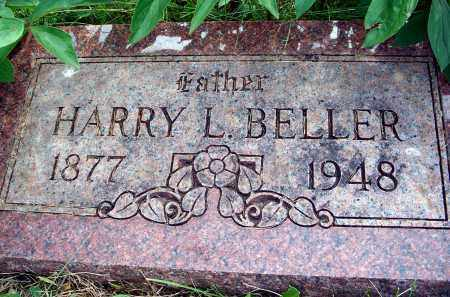 BELLER, HARRY L. - Dixon County, Nebraska | HARRY L. BELLER - Nebraska Gravestone Photos