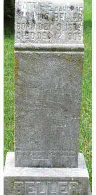 BELLER, HATTIE E. - Dixon County, Nebraska   HATTIE E. BELLER - Nebraska Gravestone Photos