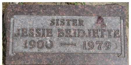BELLER, JESSIE BRIDJETTE - Dixon County, Nebraska | JESSIE BRIDJETTE BELLER - Nebraska Gravestone Photos