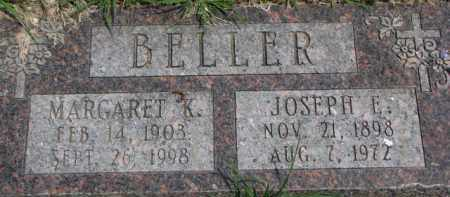 BELLER, MARGARET K. - Dixon County, Nebraska | MARGARET K. BELLER - Nebraska Gravestone Photos