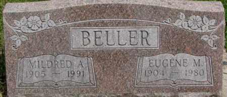 BELLER, MILDRED A. - Dixon County, Nebraska | MILDRED A. BELLER - Nebraska Gravestone Photos