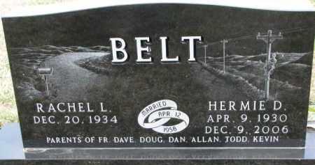 BELT, HERMIE D. - Dixon County, Nebraska | HERMIE D. BELT - Nebraska Gravestone Photos