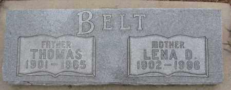 BELT, LENA D. - Dixon County, Nebraska | LENA D. BELT - Nebraska Gravestone Photos