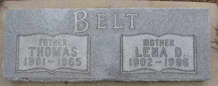 BELT, THOMAS - Dixon County, Nebraska | THOMAS BELT - Nebraska Gravestone Photos