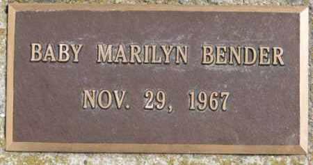 BENDER, MARILYN - Dixon County, Nebraska   MARILYN BENDER - Nebraska Gravestone Photos