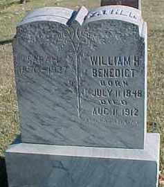 BENEDICT, WILLIAM H. - Dixon County, Nebraska | WILLIAM H. BENEDICT - Nebraska Gravestone Photos