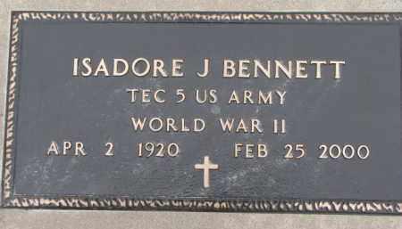 BENNETT, ISADORE J. - Dixon County, Nebraska | ISADORE J. BENNETT - Nebraska Gravestone Photos