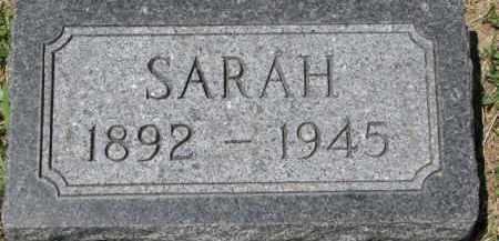 BENNETT, SARAH - Dixon County, Nebraska | SARAH BENNETT - Nebraska Gravestone Photos