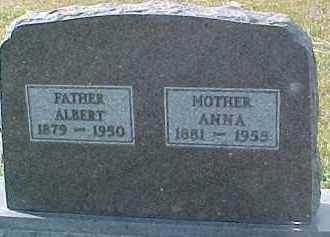 BENSTEAD, ANNA - Dixon County, Nebraska | ANNA BENSTEAD - Nebraska Gravestone Photos
