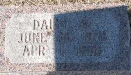 BENSTEAD, DAISY M. - Dixon County, Nebraska | DAISY M. BENSTEAD - Nebraska Gravestone Photos