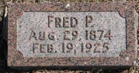 BENSTEAD, FRED PRESTON - Dixon County, Nebraska | FRED PRESTON BENSTEAD - Nebraska Gravestone Photos