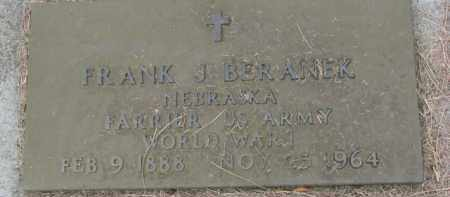 BERANEK, FRANK J. (WW I MARKER) - Dixon County, Nebraska | FRANK J. (WW I MARKER) BERANEK - Nebraska Gravestone Photos