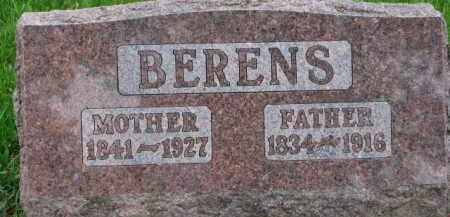 BERENS, FATHER - Dixon County, Nebraska | FATHER BERENS - Nebraska Gravestone Photos
