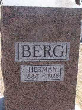 BERG, HERMAN - Dixon County, Nebraska   HERMAN BERG - Nebraska Gravestone Photos