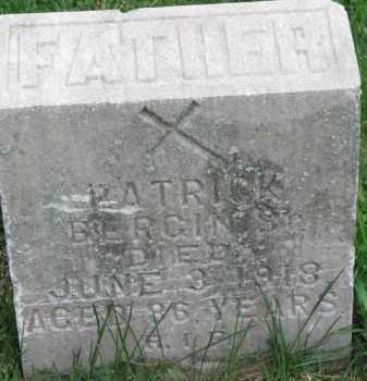 BERGIN, PATRICK - Dixon County, Nebraska   PATRICK BERGIN - Nebraska Gravestone Photos