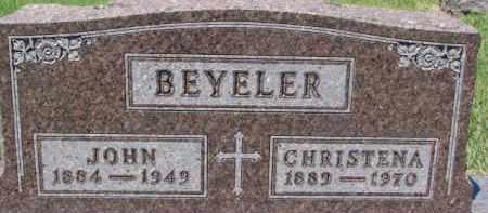 BEYELER, JOHN - Dixon County, Nebraska | JOHN BEYELER - Nebraska Gravestone Photos