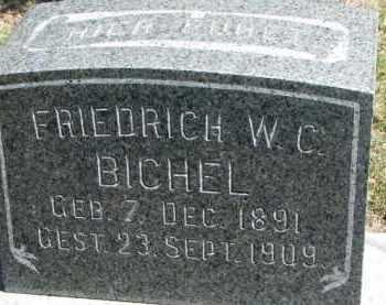 BICHEL, FRIEDRICH W. C. - Dixon County, Nebraska   FRIEDRICH W. C. BICHEL - Nebraska Gravestone Photos