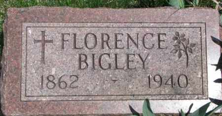 BIGLEY, FLORENCE - Dixon County, Nebraska   FLORENCE BIGLEY - Nebraska Gravestone Photos