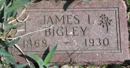 BIGLEY, JAMES I. - Dixon County, Nebraska | JAMES I. BIGLEY - Nebraska Gravestone Photos