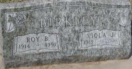 BIRKLEY, VIOLA J. - Dixon County, Nebraska | VIOLA J. BIRKLEY - Nebraska Gravestone Photos