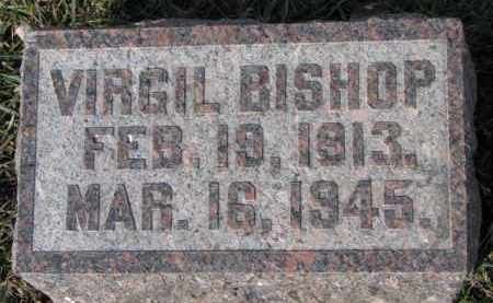 BISHOP, VIRGIL - Dixon County, Nebraska | VIRGIL BISHOP - Nebraska Gravestone Photos