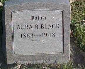 BLACK, AURA B. - Dixon County, Nebraska | AURA B. BLACK - Nebraska Gravestone Photos