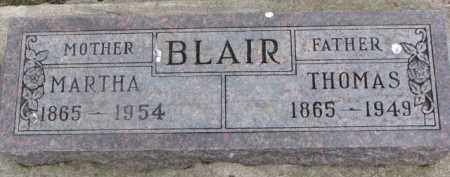 BLAIR, MARTHA - Dixon County, Nebraska | MARTHA BLAIR - Nebraska Gravestone Photos