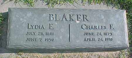 BLAKER, LYDIA E. - Dixon County, Nebraska | LYDIA E. BLAKER - Nebraska Gravestone Photos