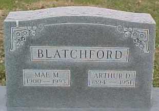 BLATCHFORD, ARTHUR D. - Dixon County, Nebraska | ARTHUR D. BLATCHFORD - Nebraska Gravestone Photos