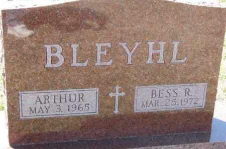 BLEYHL, BESS R. - Dixon County, Nebraska | BESS R. BLEYHL - Nebraska Gravestone Photos