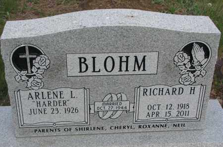 BLOHM, ARLENE L. - Dixon County, Nebraska   ARLENE L. BLOHM - Nebraska Gravestone Photos
