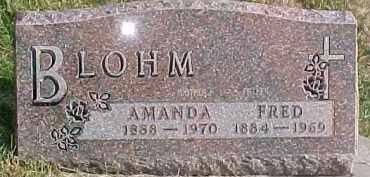 BLOHM, AMANDA - Dixon County, Nebraska   AMANDA BLOHM - Nebraska Gravestone Photos