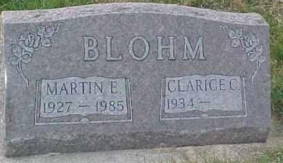 BLOHM, CLARICE C. - Dixon County, Nebraska | CLARICE C. BLOHM - Nebraska Gravestone Photos