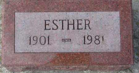 BLOOM, ESTHER - Dixon County, Nebraska | ESTHER BLOOM - Nebraska Gravestone Photos