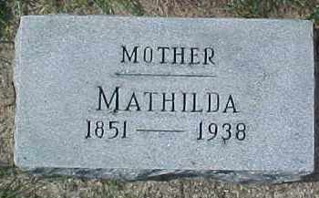 BLOOM, MATHILDA - Dixon County, Nebraska | MATHILDA BLOOM - Nebraska Gravestone Photos