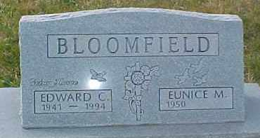 BLOOMFIELD, EDWARD C. - Dixon County, Nebraska | EDWARD C. BLOOMFIELD - Nebraska Gravestone Photos