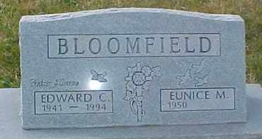 BLOOMFIELD, EUNICE M. - Dixon County, Nebraska   EUNICE M. BLOOMFIELD - Nebraska Gravestone Photos
