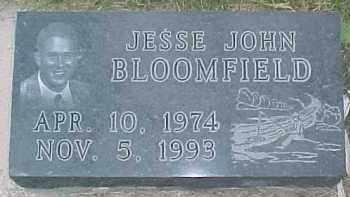 BLOOMFIELD, JESSE JOHN - Dixon County, Nebraska | JESSE JOHN BLOOMFIELD - Nebraska Gravestone Photos