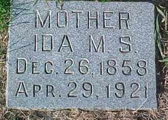 BLOOMQUIST, IDA M.S. - Dixon County, Nebraska | IDA M.S. BLOOMQUIST - Nebraska Gravestone Photos