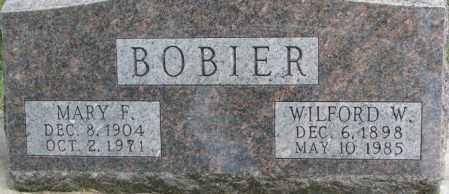 BOBIER, WILFORD W. - Dixon County, Nebraska   WILFORD W. BOBIER - Nebraska Gravestone Photos