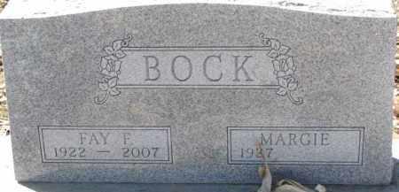 BOCK, FAY F. - Dixon County, Nebraska   FAY F. BOCK - Nebraska Gravestone Photos